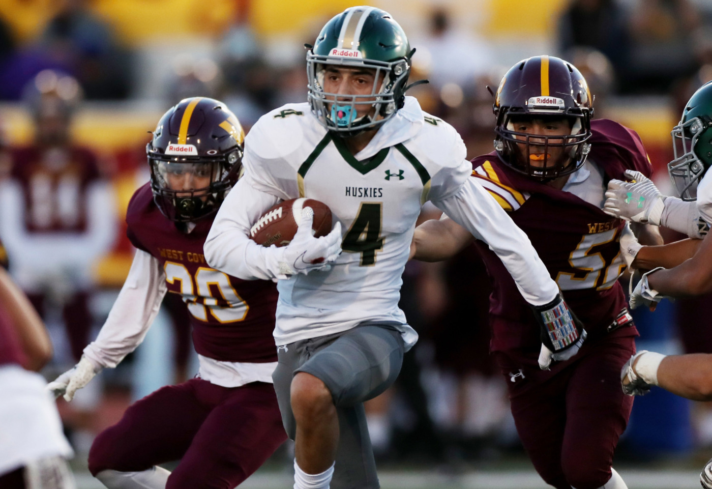 Scores & photos from Friday's high school football games, April 2 - L.A. Focus News